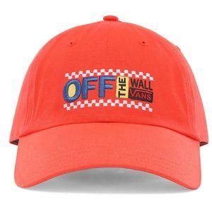 Orange Vans hat